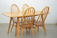 Load image into Gallery viewer, Mid Century Dining Table & 6 Chairs by Ercol