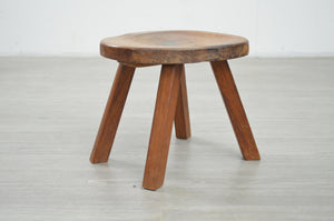 Dutch Brutalist Milking Stool