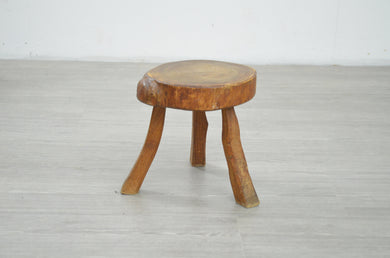 Small Rustic Milking Stool