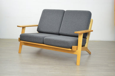 Mid Century Style Two-Seater Sofa
