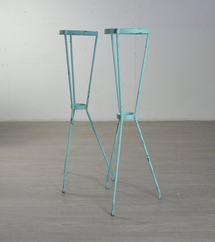 A Pair of Mid Century Plant Stands