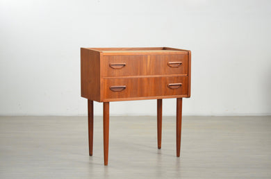 Small Teak Mid Century  Chest of Drawers