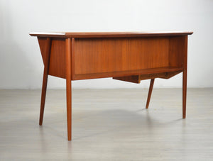 1960s Teak Desk by Tibergaard