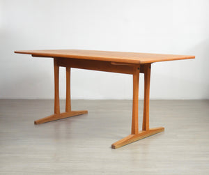 Shaker Dining Table in Oak by Børge Mogensen for FDB, 1960s