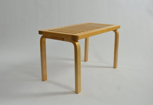 Slatted Bench in Birch by Alvar Aalto