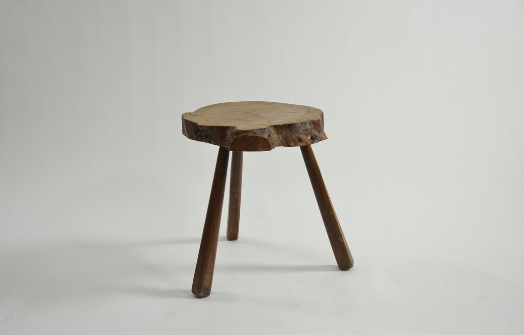 Primitive Side Table or Stool
