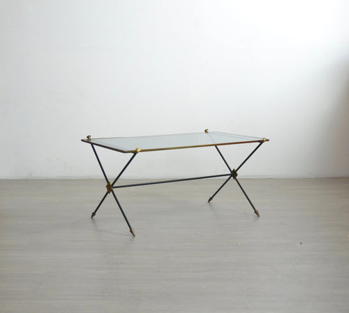 Brass Mid Century Coffee Table
