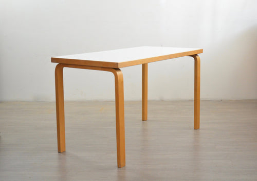 Birch Model 81B Writing Table by Alvar Aalto