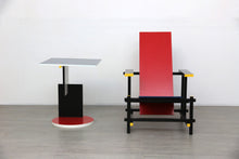 Load image into Gallery viewer, Reproduction Red and Blue Chair and Coffee Table by Gerrit Rietveld