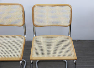 Set Of 4 Stacking Cesca Style Chairs