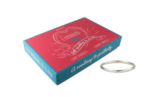 I Married Me Self-Wedding In-A-Box - Sterling Silver