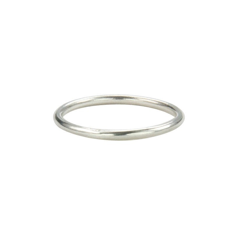 Sterling Silver Self-Wedding Ring