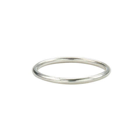Self-Wedding Ring - Sterling Silver