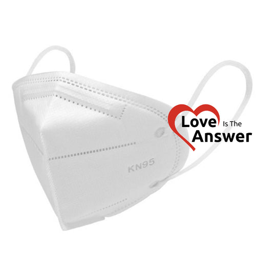 Disposable KN95 Mask - Equivalent to N95 Masks - Love Is The Answer Charity