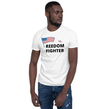 Load image into Gallery viewer, FREEDOM FIGHTER Short-Sleeve Unisex T-Shirt - Love Is The Answer Charity