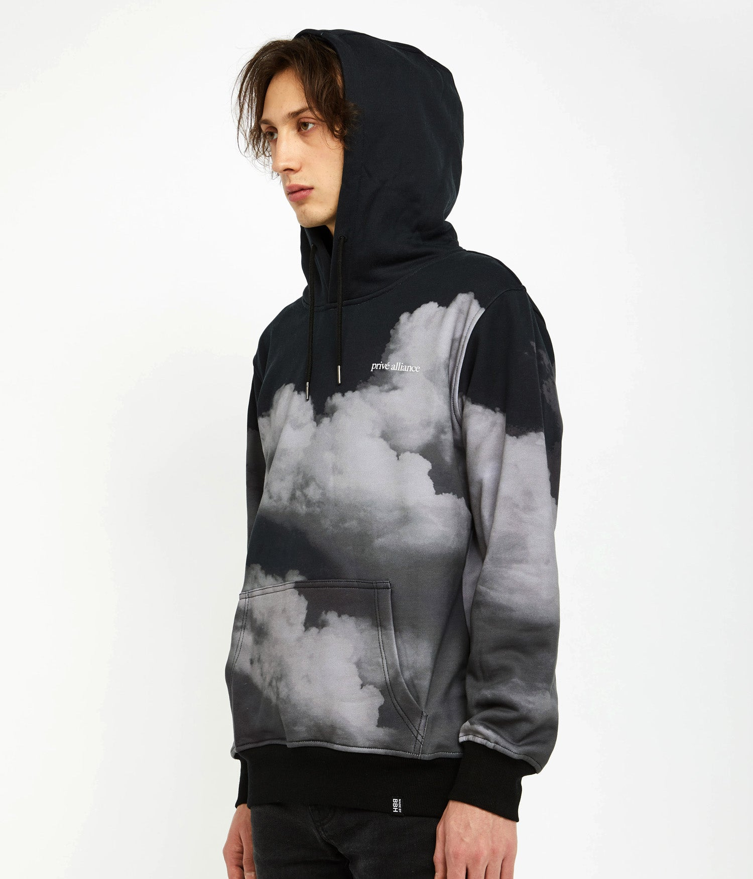 "Privé Alliance Men's ""Behind Clouds"" Hoodie"