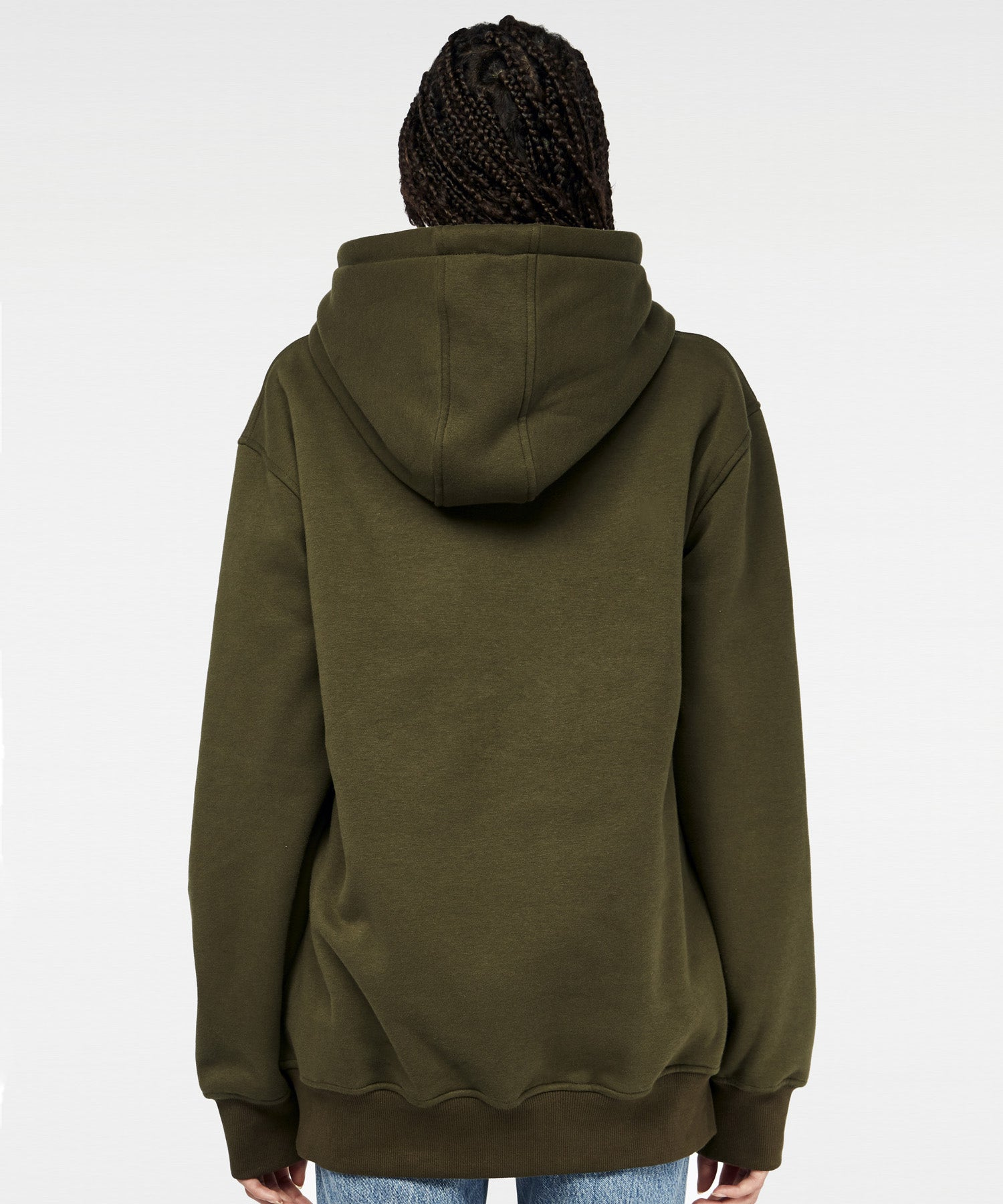 Privé Alliance Women's Combat Hoodie Army Green
