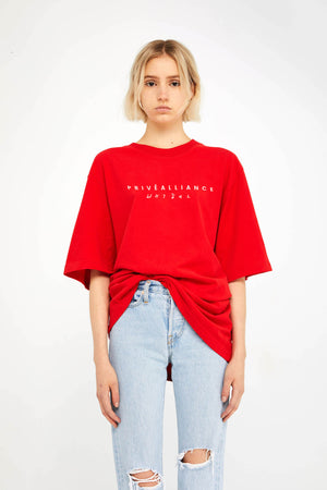 Privé Alliance Women's Obsession T-shirt Red