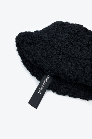 Prive Alliance Downtime Sherpa Hat - Black