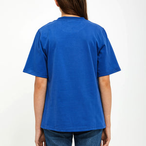 Privé Alliance Women's Partial T-shirt Blue
