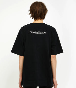 Privê Alliance Men's Selca T-shirt 2.0 Black