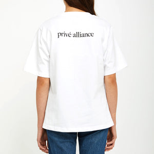 Privé Alliance Women's Selca 2.0 T-shirt White