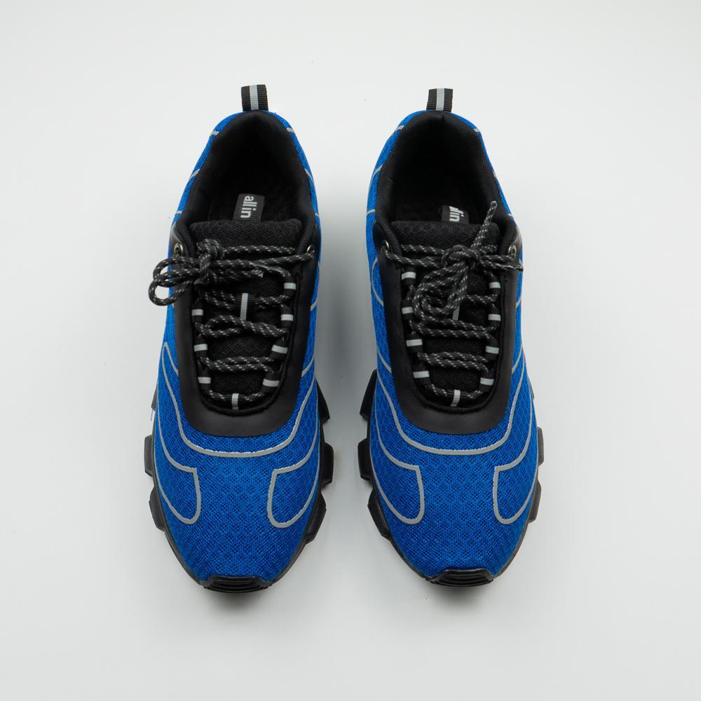 All In Tennis Shoes Blue/Reflective