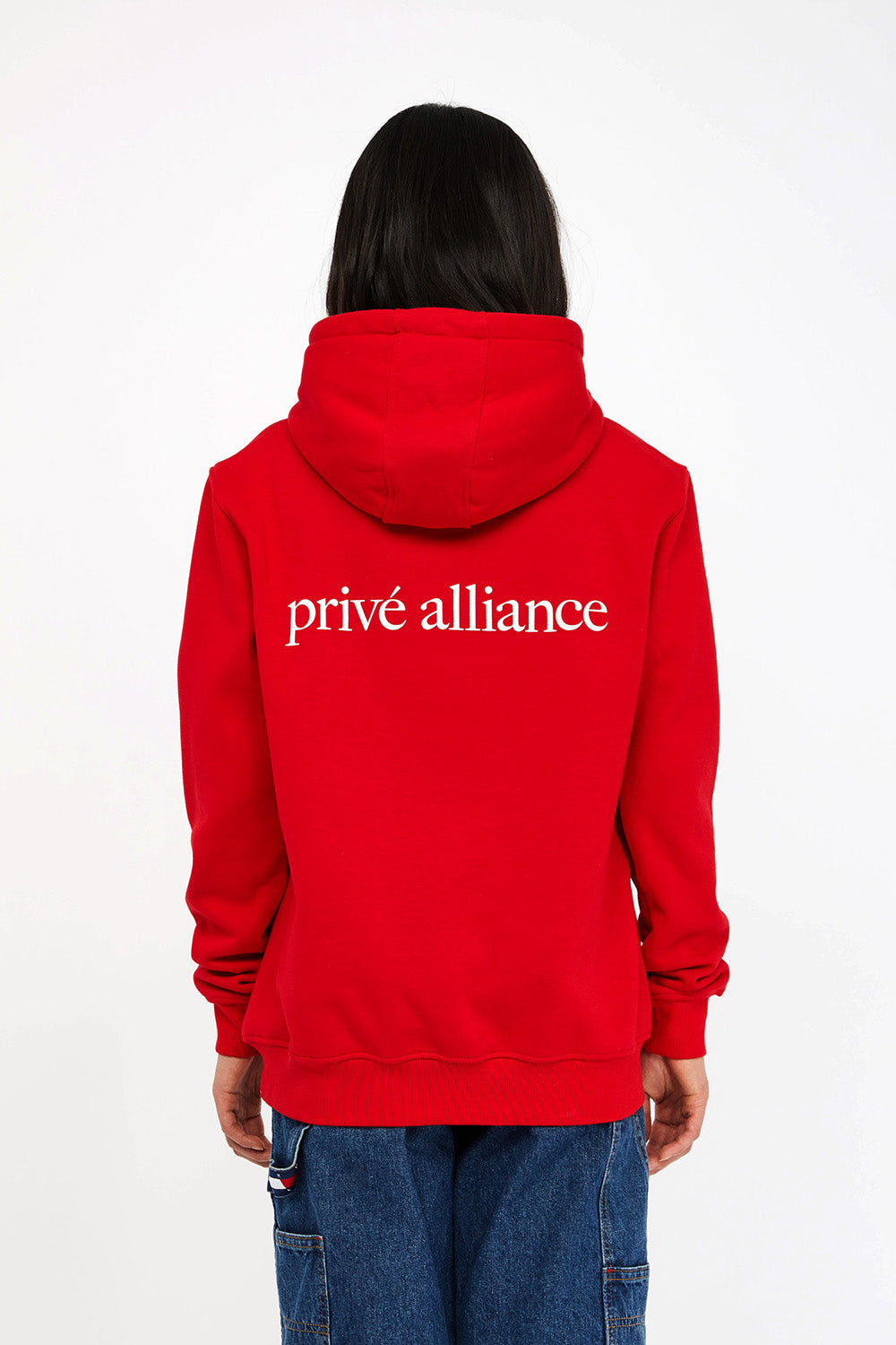Privé Alliance Women's Playground Hoodie Red