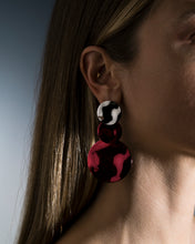 Load image into Gallery viewer, Cosmic Long Earrings Cherry