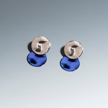 Load image into Gallery viewer, Cosmic Earrings Sapphire