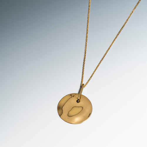 Lunar Necklace Gold
