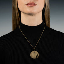 Load image into Gallery viewer, Lunar Necklace Gold