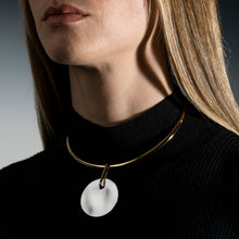 Load image into Gallery viewer, Lunar Choker Necklace Moon