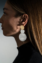 Load image into Gallery viewer, Lunar Long Earrings Moon