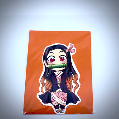 Demon Slayer Nezuko Vinyl Sticker