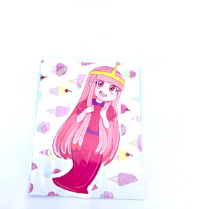 Princess Bubblegum and Marceline Vinyl Stickers