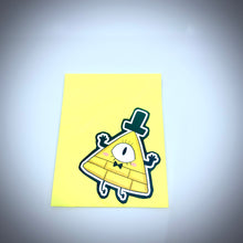 Load image into Gallery viewer, Bill Cipher Vinyl Stickers
