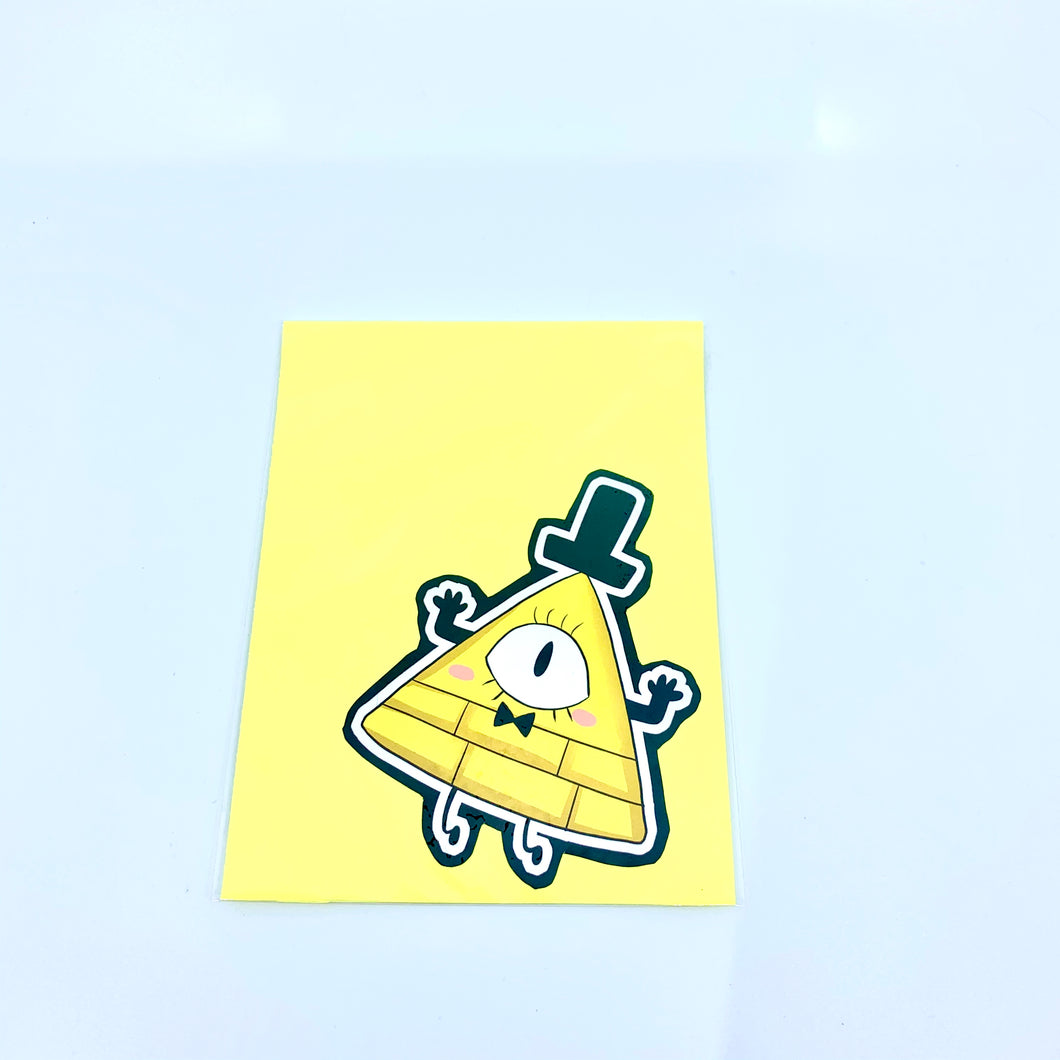Bill Cipher Vinyl Stickers
