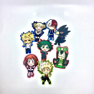 My Hero Academia Vinyl Stickers