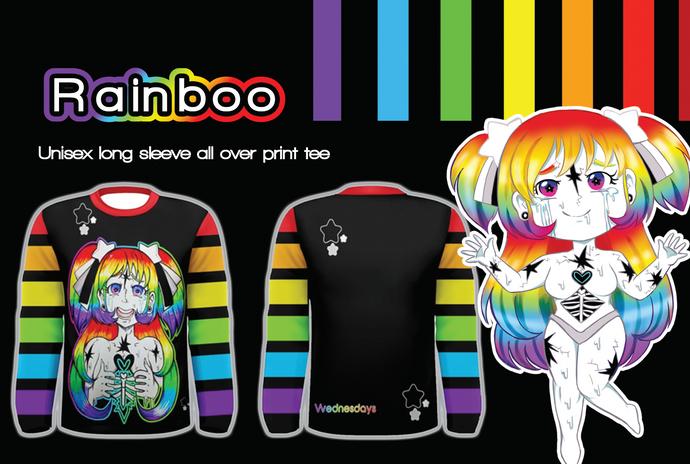 Rainboo Rainbow Long Sleeve Shirt