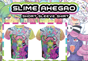 Monster Slime Girl Ahegao All Over Print Shirt