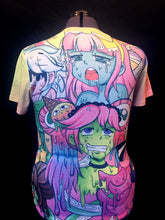 Load image into Gallery viewer, Monster Slime Girl Ahegao All Over Print Shirt