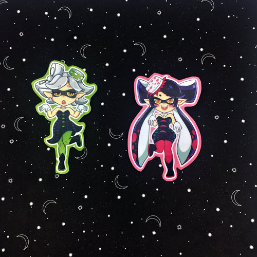 Squid Sisters Stickers
