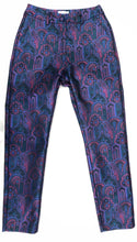 Load image into Gallery viewer, Everybody's Talkin' Paisley Brocade Cigarette Pant