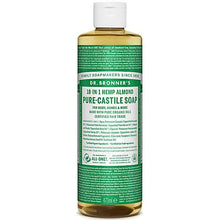 Almond Pure-Castile Liquid Soap 473ml
