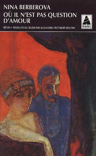 OU IL N'EST PAS QUESTION D'AMOUR