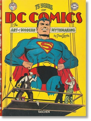 75 YEARS OF DC COMICS. MYTHOLOGIES MODERNES ET CREATION ART - FP