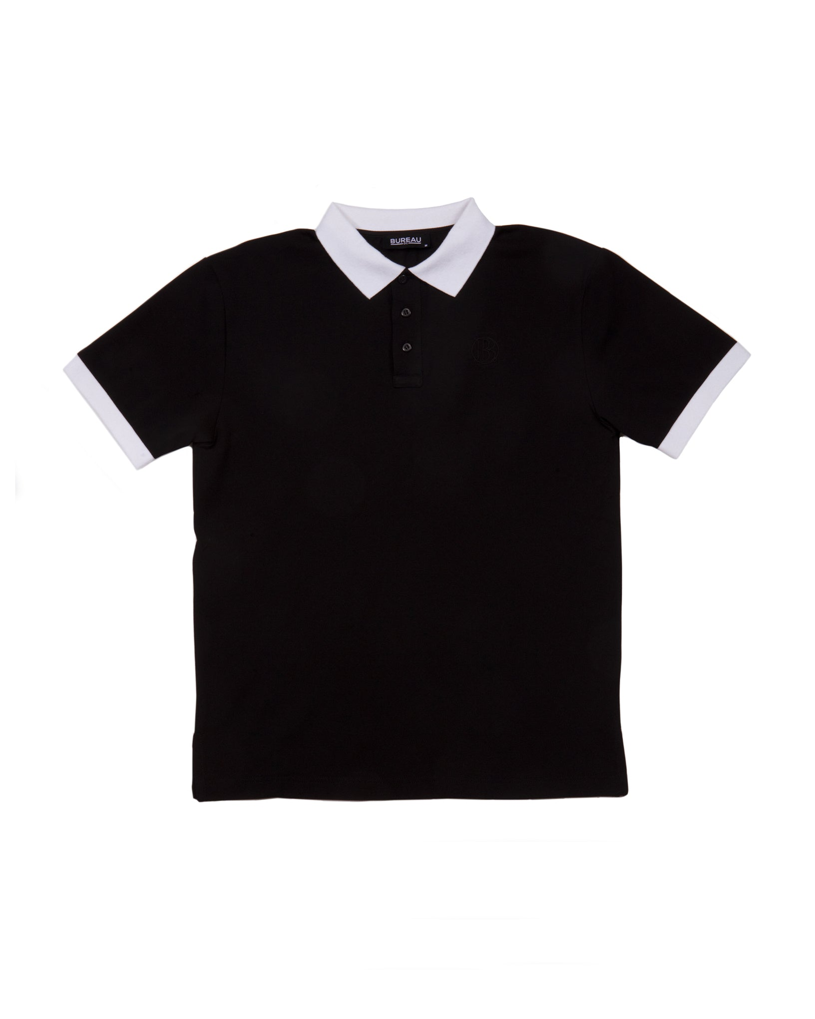 Two-Tone Short Sleeve Polo