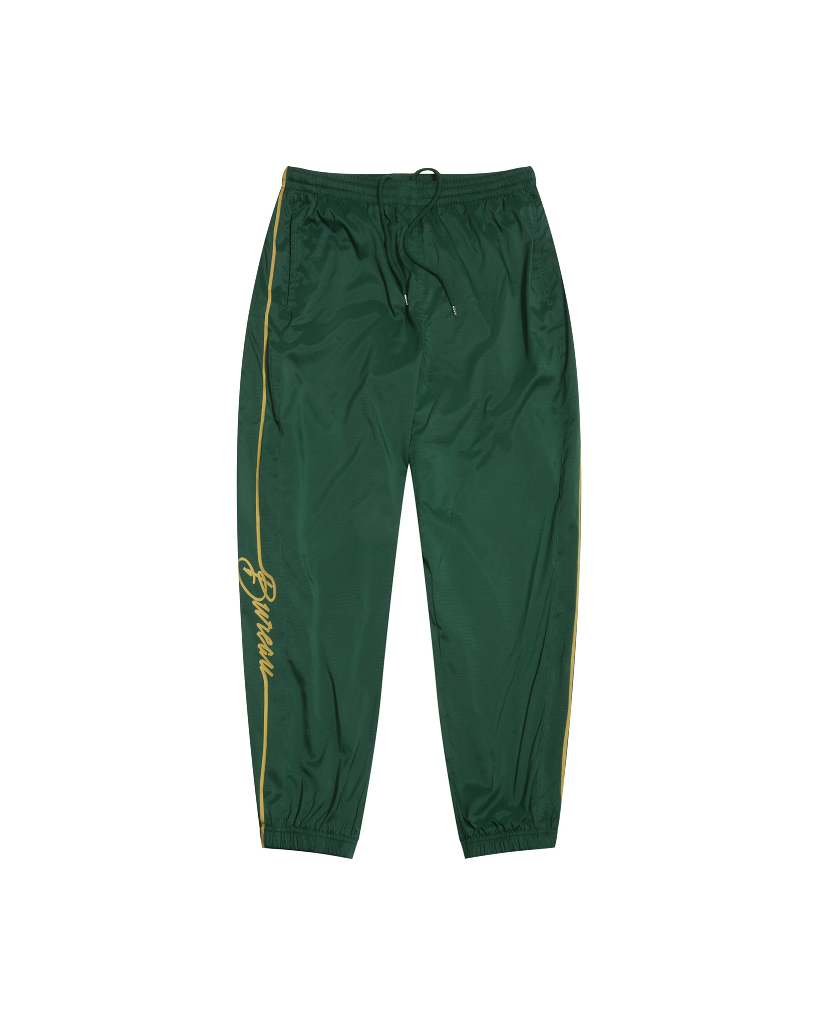 Dark Green Men's Track Pants