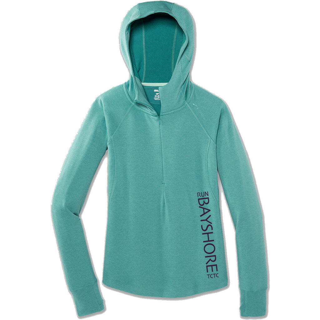Run Bayshore Notch Thermal Hoodie